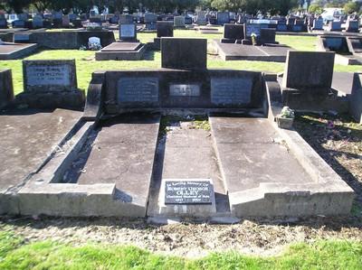 Picture of Taruheru cemetery, block 19, plot 105.