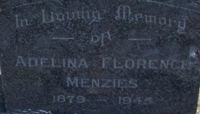 Picture of Taruheru cemetery, block 19, plot 41.