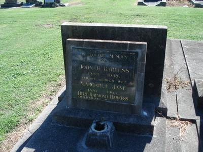 Picture of Taruheru cemetery, block 19, plot 64A.