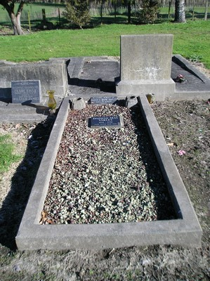 Picture of Taruheru cemetery, block 19, plot 74.