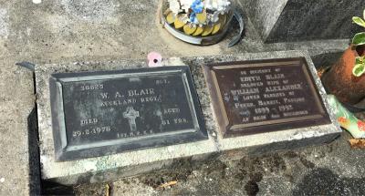 Picture of Taruheru cemetery, block 1, plot 111.