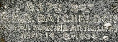 Picture of Taruheru cemetery, block 1, plot 20.