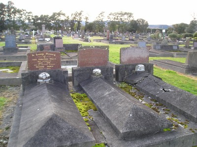 Picture of Taruheru cemetery, block 1, plot 43.