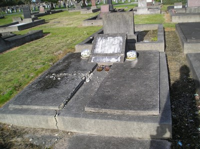 Picture of Taruheru cemetery, block 1, plot 58.