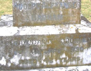 Picture of Taruheru cemetery, block 1, plot 64.