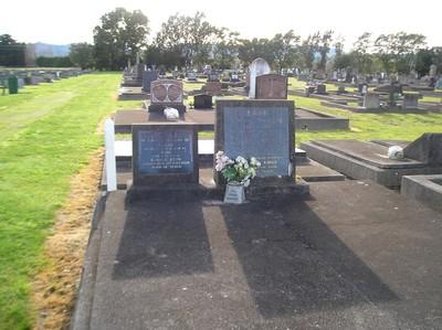 Picture of Taruheru cemetery, block 1, plot 84.