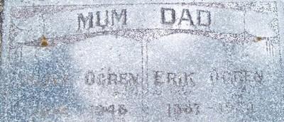 Picture of Taruheru cemetery, block 1, plot 92A.