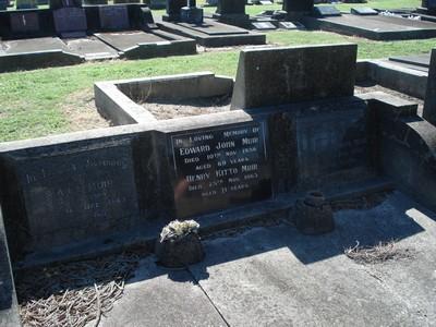 Picture of Taruheru cemetery, block 20, plot 116.
