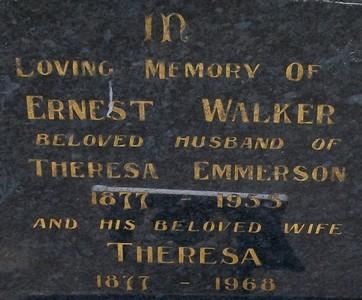 Picture of Taruheru cemetery, block 20, plot 191.