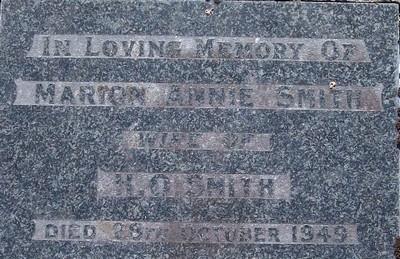 Picture of Taruheru cemetery, block 20, plot 49.