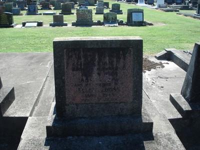 Picture of Taruheru cemetery, block 20, plot 63.