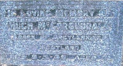 Picture of Taruheru cemetery, block 20, plot 64A.