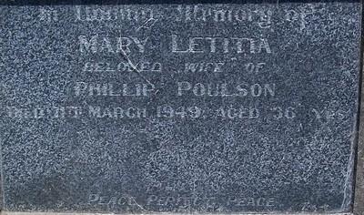 Picture of Taruheru cemetery, block 20, plot 65.