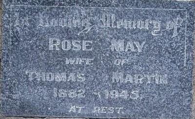 Picture of Taruheru cemetery, block 20, plot 87.