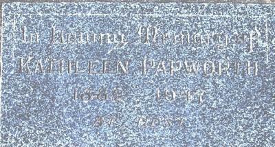 Picture of Taruheru cemetery, block 21, plot 103.