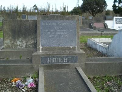 Picture of Taruheru cemetery, block 21, plot 106.