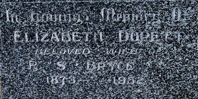 Picture of Taruheru cemetery, block 21, plot 119.