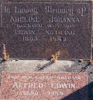 Picture of Taruheru cemetery, block 21, plot 142.