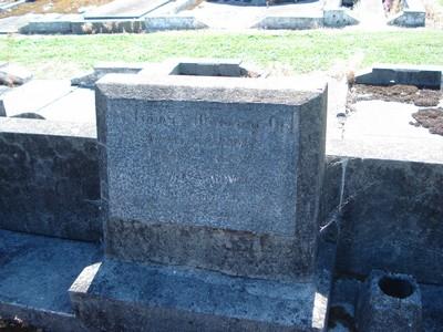 Picture of Taruheru cemetery, block 21, plot 159.