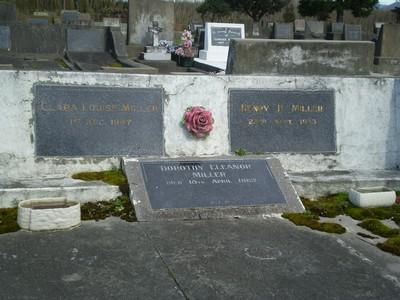Picture of Taruheru cemetery, block 21, plot 163.