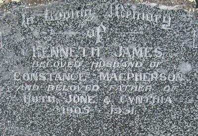 Picture of Taruheru cemetery, block 21, plot 186.