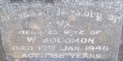 Picture of Taruheru cemetery, block 21, plot 206.
