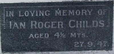 Picture of Taruheru cemetery, block 21, plot 25.