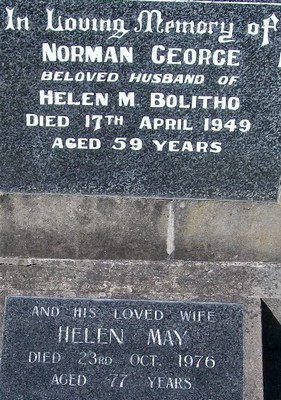 Picture of Taruheru cemetery, block 21, plot 256A.