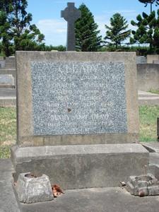 Picture of Taruheru cemetery, block 21, plot 309.
