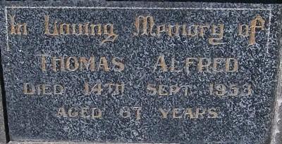Picture of Taruheru cemetery, block 21, plot 319.