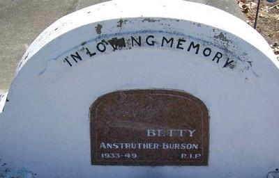 Picture of Taruheru cemetery, block 21, plot 324.