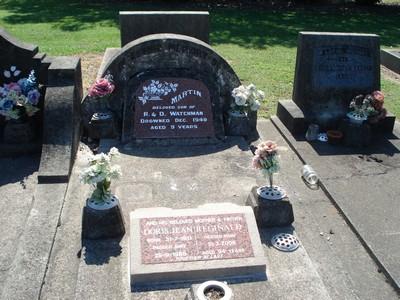 Picture of Taruheru cemetery, block 21, plot 343.