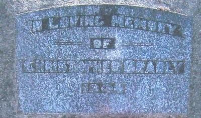 Picture of Taruheru cemetery, block 21, plot 344.