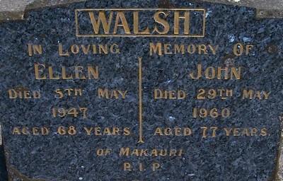 Picture of Taruheru cemetery, block 21, plot 53.