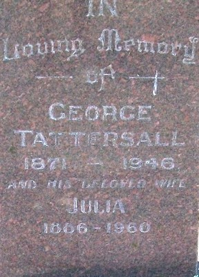 Picture of Taruheru cemetery, block 21, plot 8.