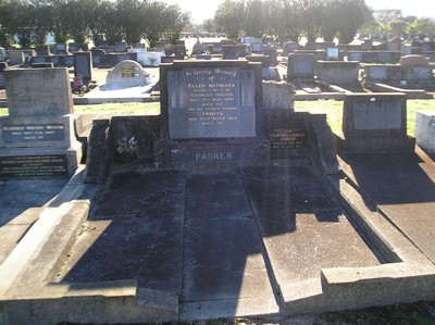 Picture of Taruheru cemetery, block 21, plot 82.