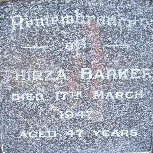 Picture of Taruheru cemetery, block 21, plot 94.