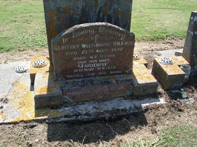 Picture of Taruheru cemetery, block 22, plot 145.