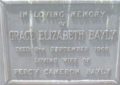 Picture of Taruheru cemetery, block 22, plot 153.