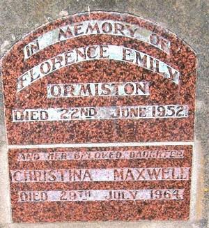Picture of Taruheru cemetery, block 22, plot 186.
