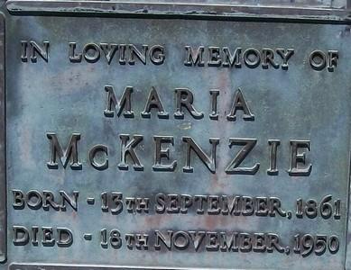 Picture of Taruheru cemetery, block 22, plot 20.