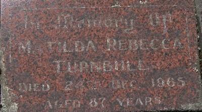 Picture of Taruheru cemetery, block 22, plot 23.