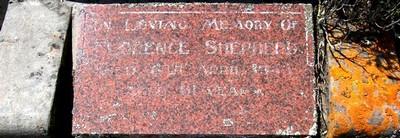 Picture of Taruheru cemetery, block 22, plot 233.