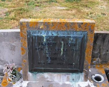 Picture of Taruheru cemetery, block 22, plot 247.