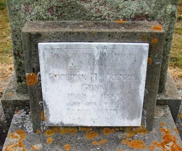 Picture of Taruheru cemetery, block 22, plot 253.
