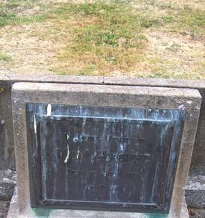 Picture of Taruheru cemetery, block 22, plot 257.