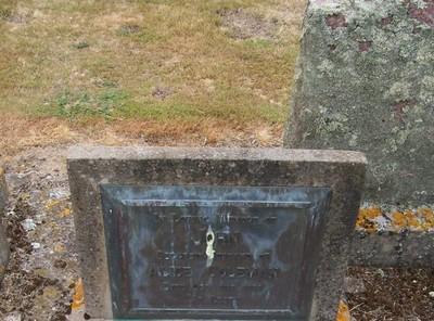 Picture of Taruheru cemetery, block 22, plot 288.