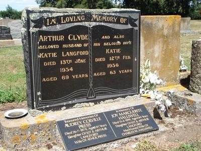 Picture of Taruheru cemetery, block 22, plot 314.