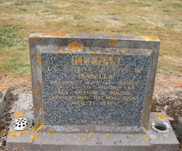 Picture of Taruheru cemetery, block 22, plot 322.