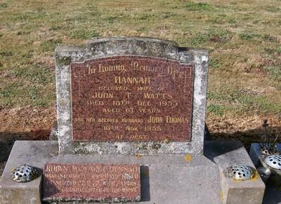Picture of Taruheru cemetery, block 22, plot 333.